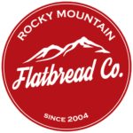 Rocky Mountain Flatbread Co. Logo Image with link to website.