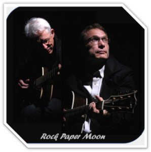 Music Tonight Rock Paper Moon with Steve and Constantin 6:45pm to 9:45pm