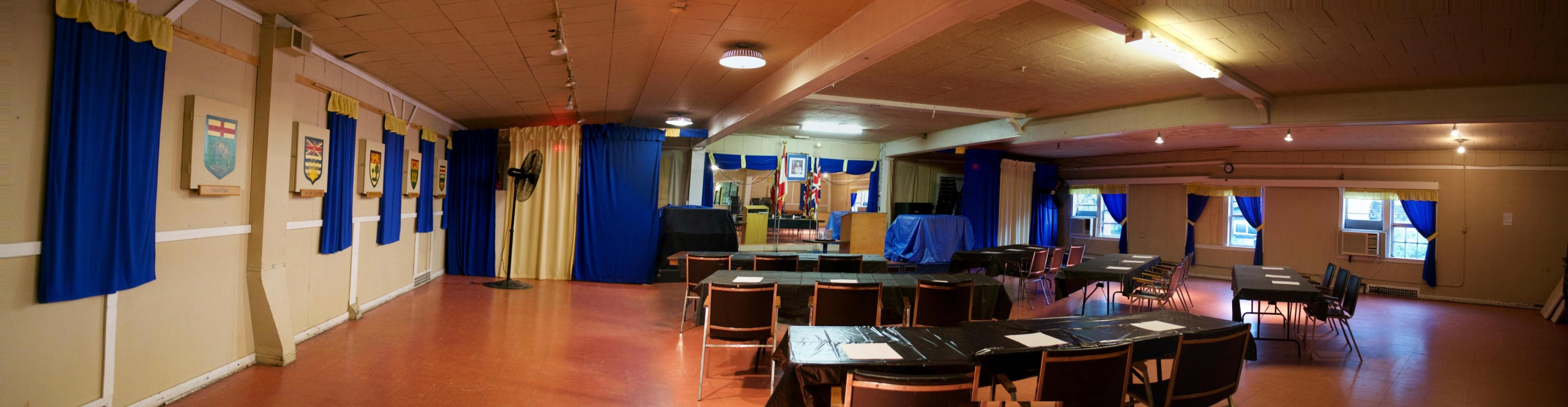 Upstairs Hall – Conference Style
